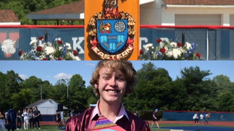 Gay high school student has microphone cut off during graduation speech… but continues