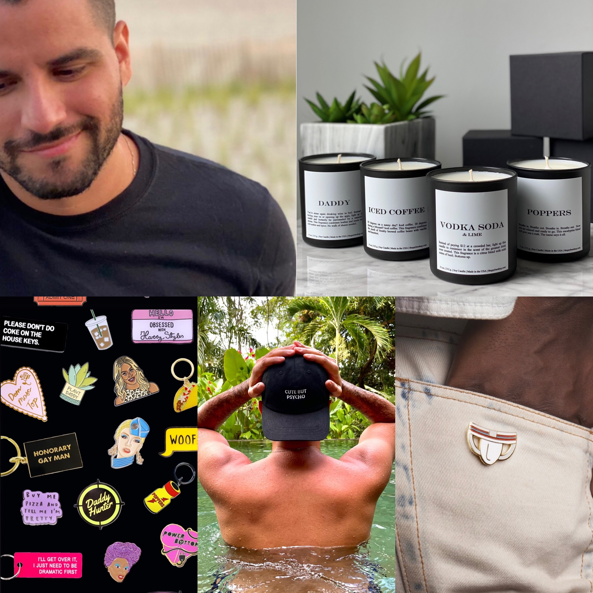 The perfect gift for your gay friend doesn't ex… never mind. Discover The Gay Bar Shop