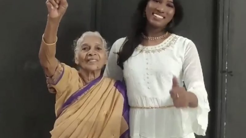 Video of 87-year-old grandmother in India accepting her trans granddaughter is just what we needed today