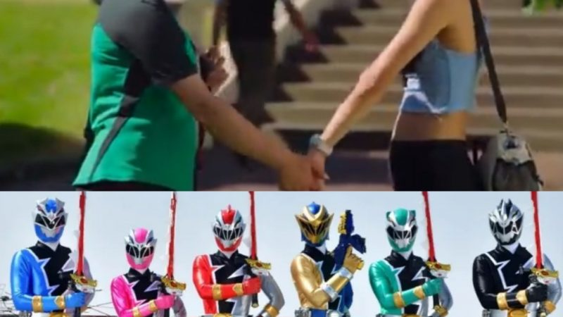 We have our first LGBT+ Power Ranger