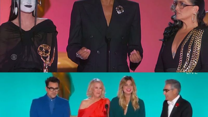 Emmys 2021: Ru Paul makes history for most Emmys won by a person of color and Schitt's Creek cast reunite
