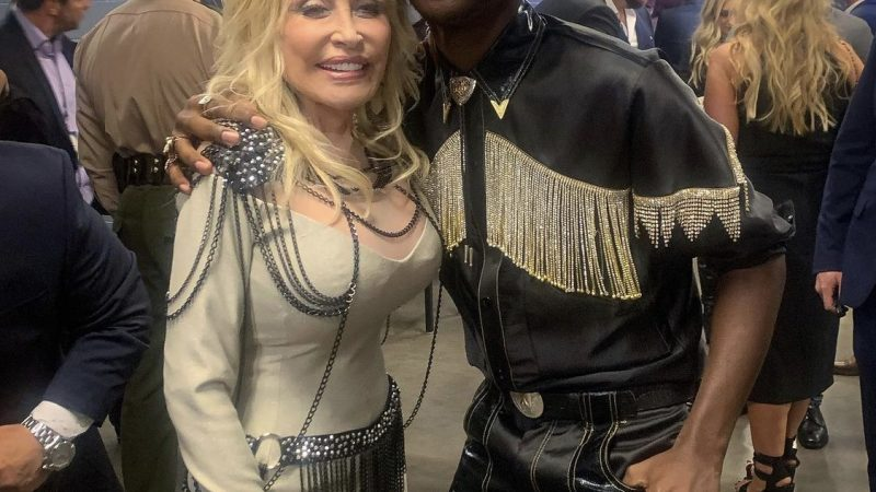 Dolly Parton reacts to Lil Nas X's cover of 'Jolene' and it's classic Dolly