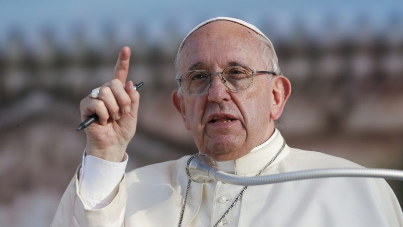 This week Pope Frances doubled down on his 'no' to same-sex marriage