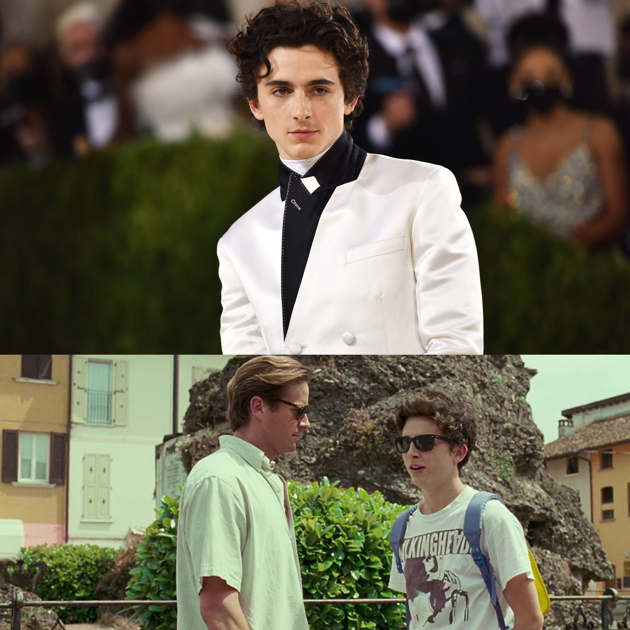 Timothée Chalamet breaks silence on Call Me By Your Name co-star Armie Hammer sexual assault allegations