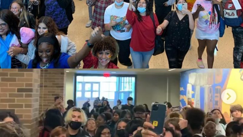 Students stage walkout in solidarity of 16 year-old trans girl banned from using facilities