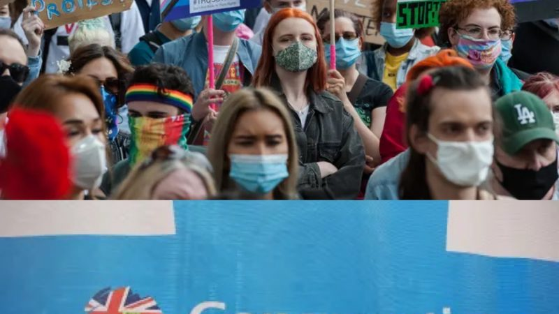 Outrage as trans-exclusionary 'hate group' LGB Alliance are permitted stand at UK government conference
