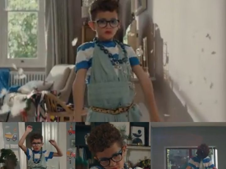 Commercial featuring a boy in a dress and makeup receives online backlash and retailer forced to respond