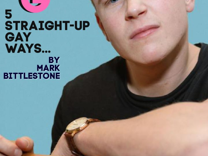 5 straight-up gay ways to… TOP.